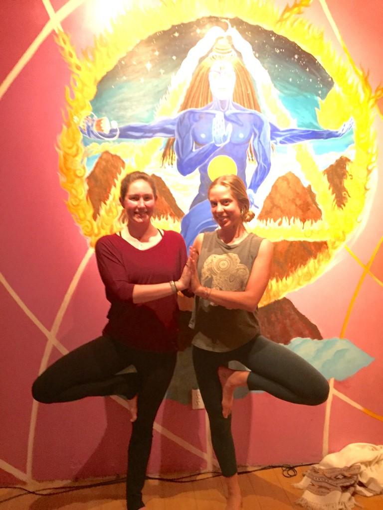 santa cruz yoga recap - Katie