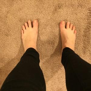 Mountain Pose tutorial - Feet
