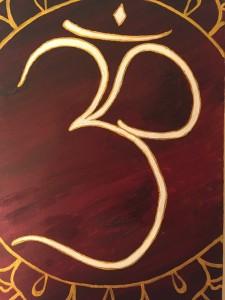 Q & A - Om Symbol Painting