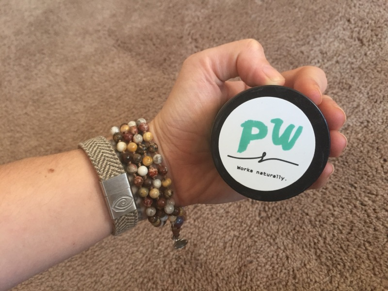 Piper Wai Natural Deodorant Product Review - Top View