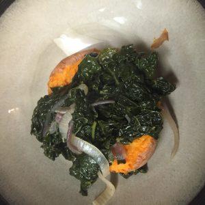 The best ever stuffed sweet potato recipe - kale