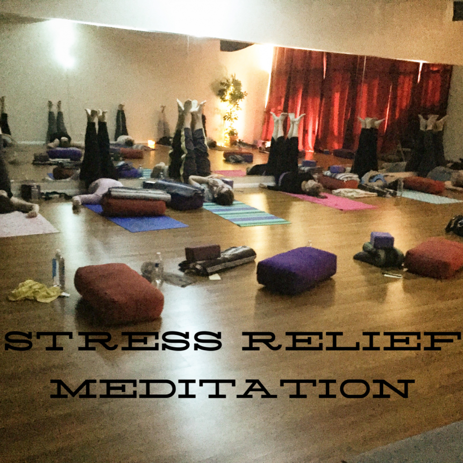 Stress Relief Meditation - class photo